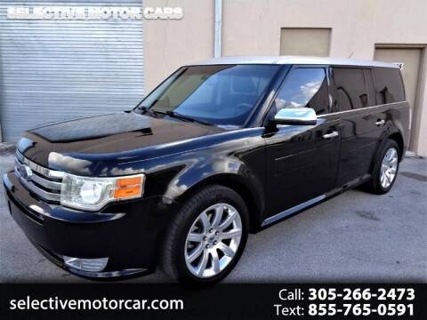 2009 Ford Flex for sale at Selective Motor Cars in Miami FL