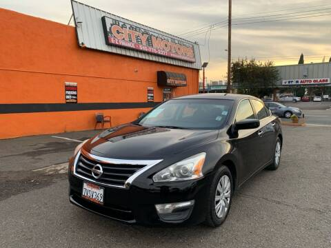2015 Nissan Altima for sale at City Motors in Hayward CA