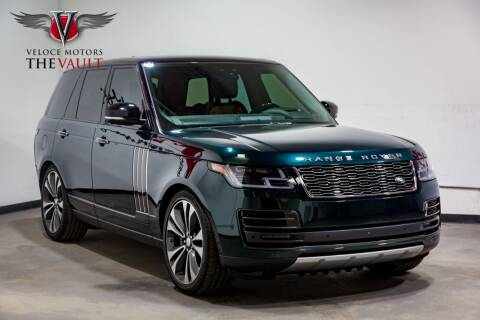 2018 Land Rover Range Rover for sale at Veloce Motors in San Diego CA