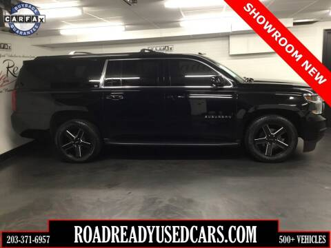 2017 Chevrolet Suburban for sale at Road Ready Used Cars in Ansonia CT