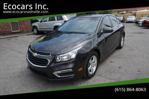 2016 Chevrolet Cruze Limited for sale at Ecocars Inc. in Nashville TN