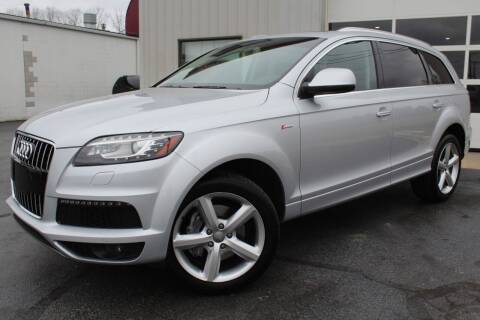 2013 Audi Q7 for sale at Platinum Motors LLC in Reynoldsburg OH