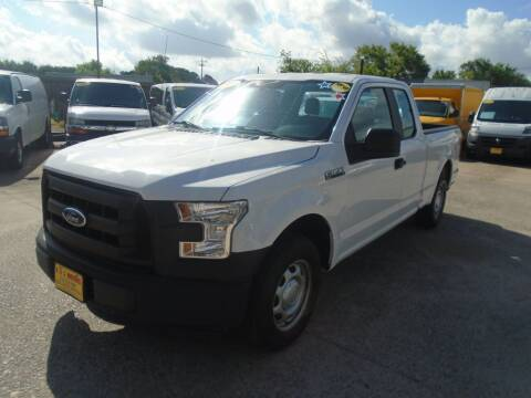 2015 Ford F-150 for sale at BAS MOTORS in Houston TX