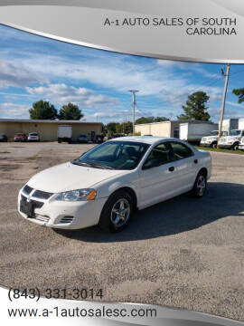 2004 Dodge Stratus for sale at A-1 Auto Sales Of South Carolina in Conway SC
