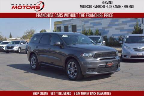 2019 Dodge Durango for sale at Choice Motors in Merced CA