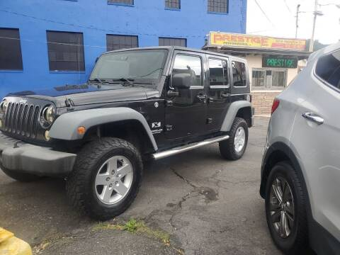 2008 Jeep Wrangler Unlimited for sale at PRESTIGE PERFORMANCE in Allentown PA