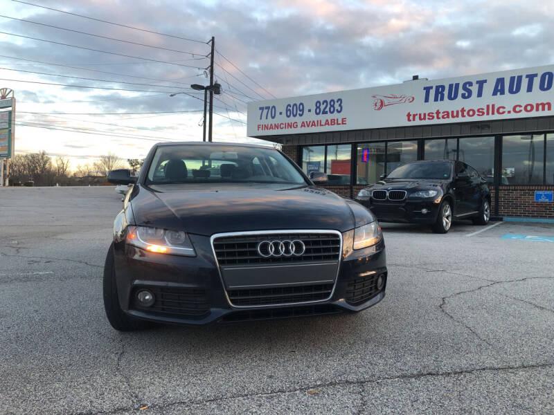2011 Audi A4 for sale at Trust Autos, LLC in Decatur GA