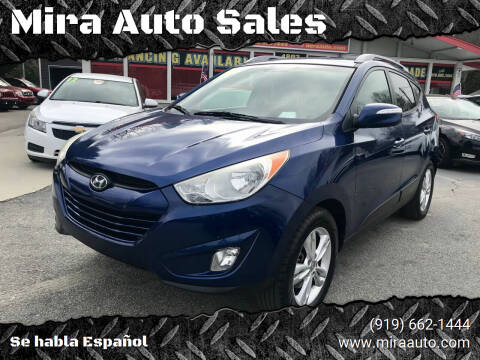 2013 Hyundai Tucson for sale at Mira Auto Sales in Raleigh NC