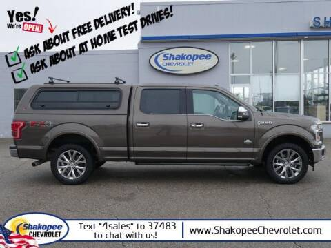 2017 Ford F-150 for sale at SHAKOPEE CHEVROLET in Shakopee MN