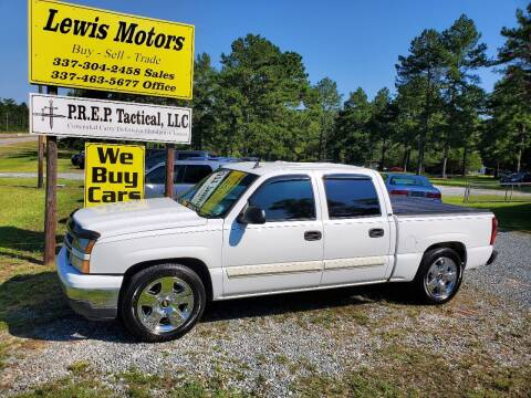 2006 Chevrolet Silverado 1500 for sale at Lewis Motors LLC in Deridder LA