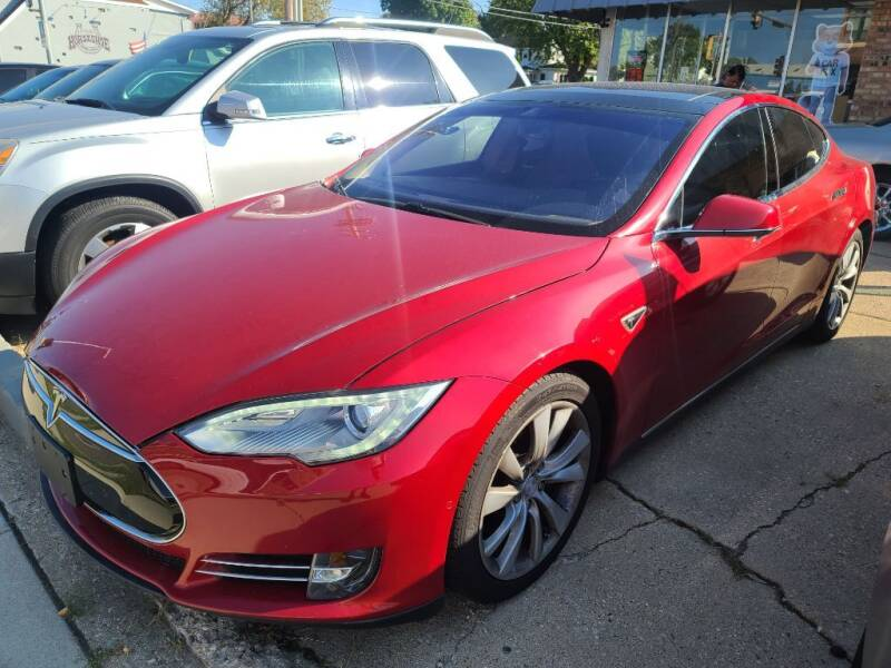 2014 Tesla Model S for sale at LOT 51 AUTO SALES in Madison WI