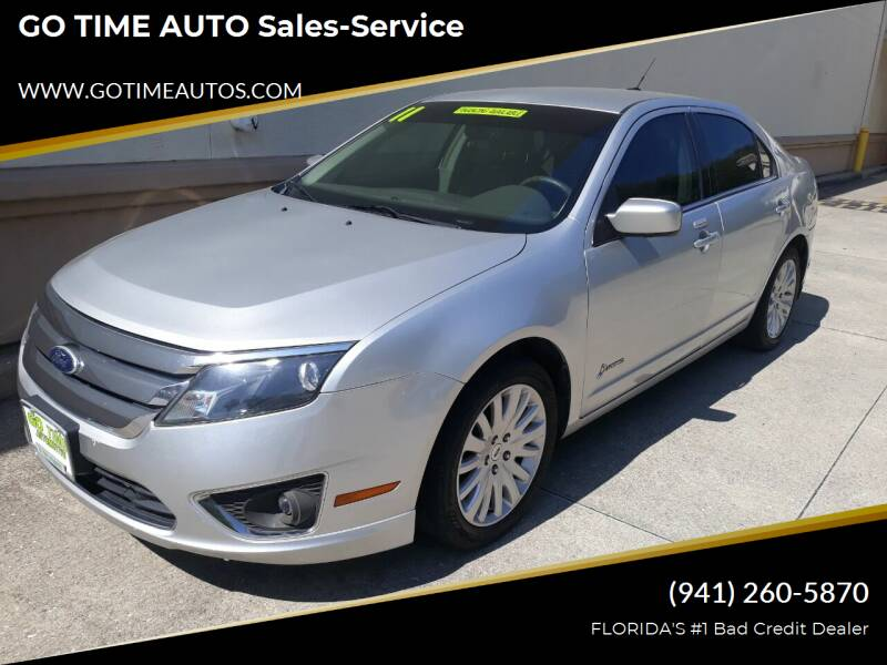 2011 Ford Fusion Hybrid for sale at Go Time Automotive in Sarasota FL