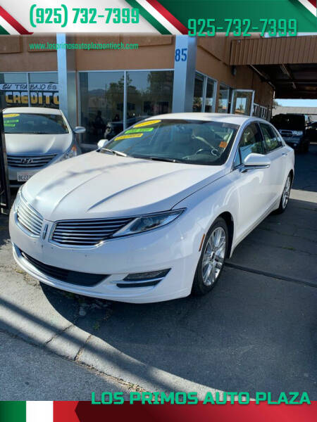 2016 Lincoln MKZ Hybrid for sale at Los Primos Auto Plaza in Antioch CA