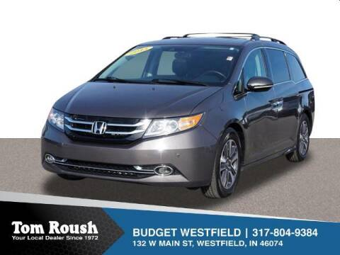 2015 Honda Odyssey for sale at Tom Roush Budget Westfield in Westfield IN