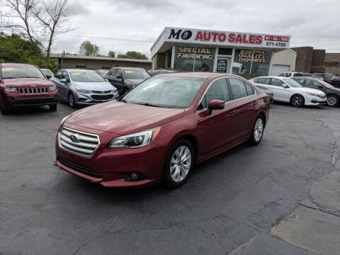 2016 Subaru Legacy for sale at Mo Auto Sales in Fairfield OH