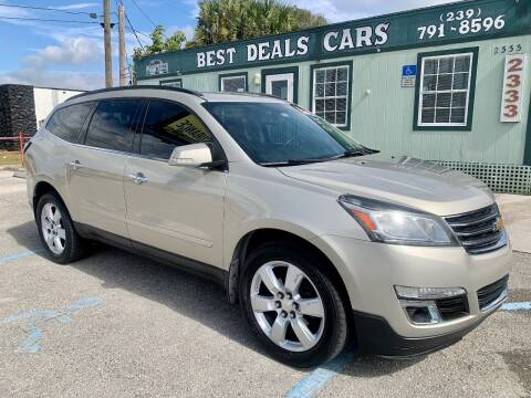 2013 Chevrolet Traverse for sale at Best Deals Cars Inc in Fort Myers FL