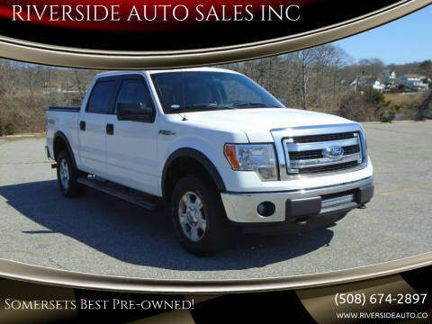 2013 Ford F-150 for sale at RIVERSIDE AUTO SALES INC in Somerset MA