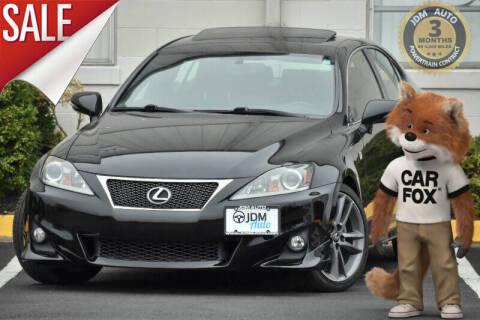2012 Lexus IS 250 for sale at JDM Auto in Fredericksburg VA