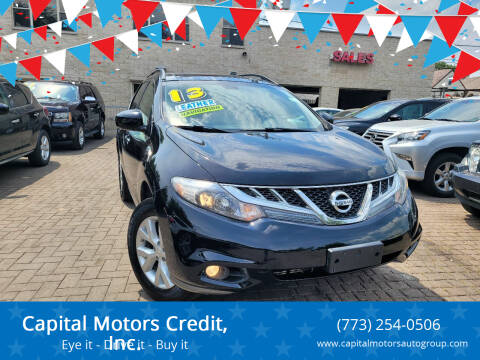 2013 Nissan Murano for sale at Capital Motors Credit, Inc. in Chicago IL