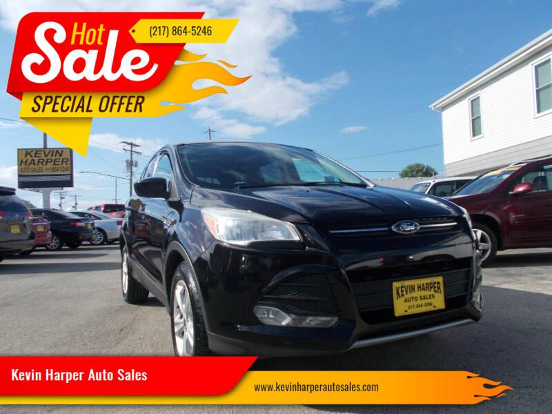 2013 Ford Escape for sale at Kevin Harper Auto Sales in Mount Zion IL