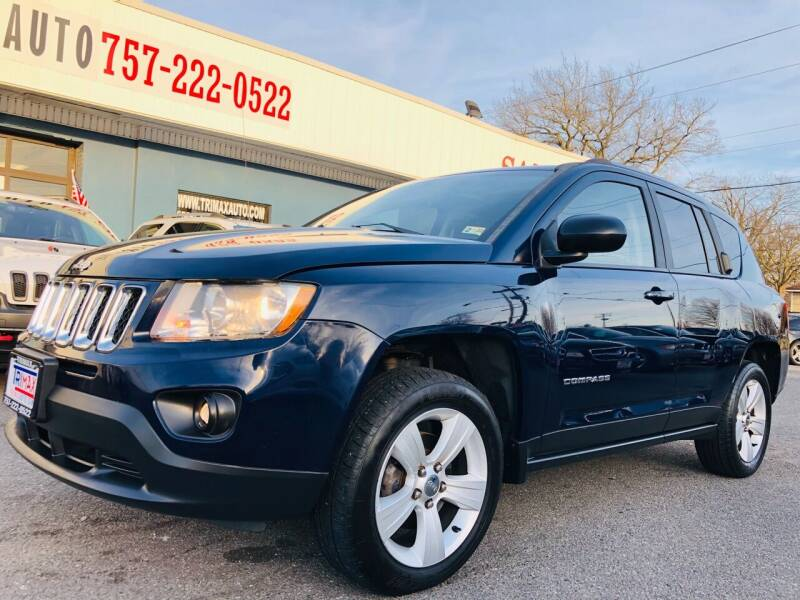 2013 Jeep Compass for sale at Trimax Auto Group in Norfolk VA