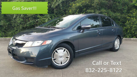 2009 Honda Civic for sale at Houston Auto Preowned in Houston TX