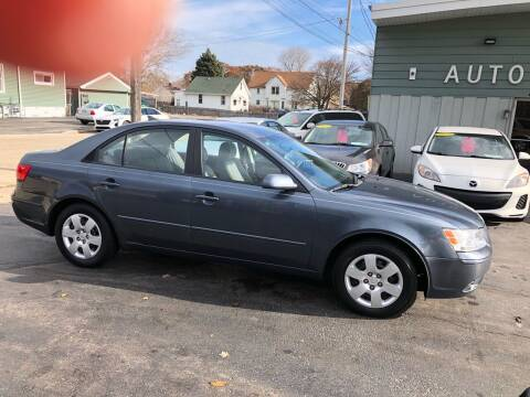 2010 Hyundai Sonata for sale at SHEFFIELD MOTORS INC in Kenosha WI