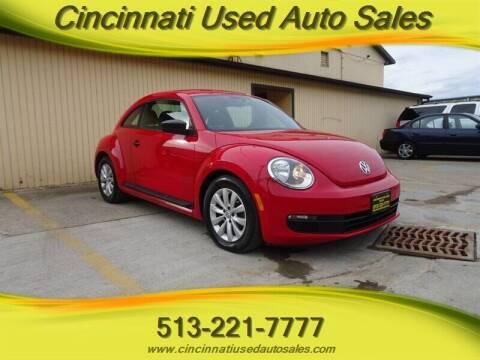 2015 Volkswagen Beetle for sale at Cincinnati Used Auto Sales in Cincinnati OH