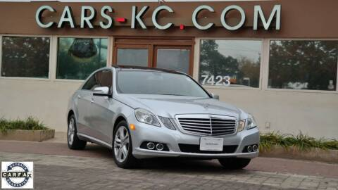 2010 Mercedes-Benz E-Class for sale at Cars-KC LLC in Overland Park KS