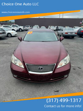 2007 Lexus ES 350 for sale at Choice One Auto LLC in Beech Grove IN