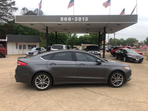 2017 Ford Fusion for sale at BOB SMITH AUTO SALES in Mineola TX