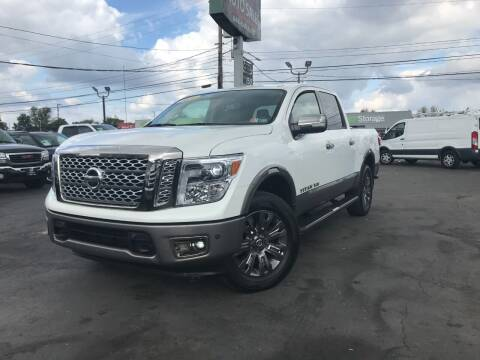 2018 Nissan Titan for sale at KAP Auto Sales in Morrisville PA
