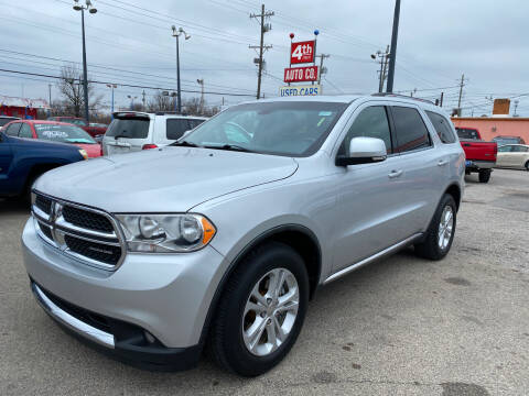 2012 Dodge Durango for sale at 4th Street Auto in Louisville KY