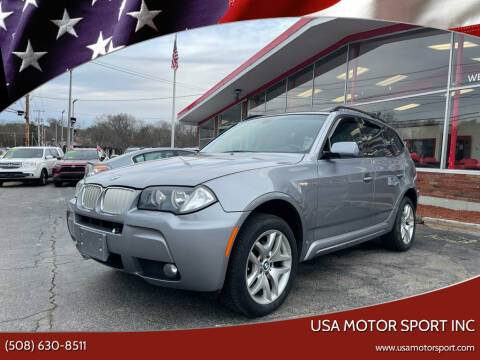 2008 BMW X3 for sale at USA Motor Sport inc in Marlborough MA