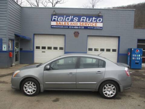 2012 Nissan Sentra for sale at Reid's Auto Sales & Service in Emporium PA