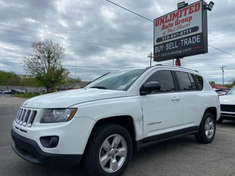 2014 Jeep Compass for sale at Unlimited Auto Group in West Chester OH
