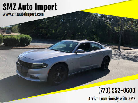 2015 Dodge Charger for sale at SMZ Auto Import in Roswell GA