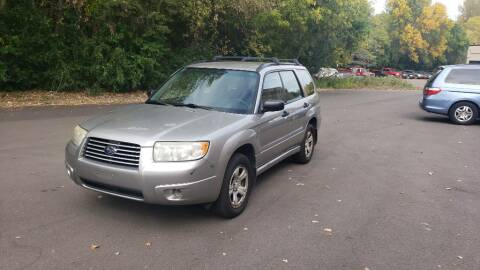 2006 Subaru Forester for sale at Fleet Automotive LLC in Maplewood MN