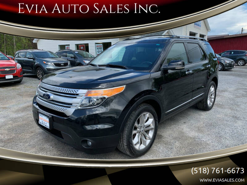 2013 Ford Explorer for sale at Evia Auto Sales Inc. in Glens Falls NY