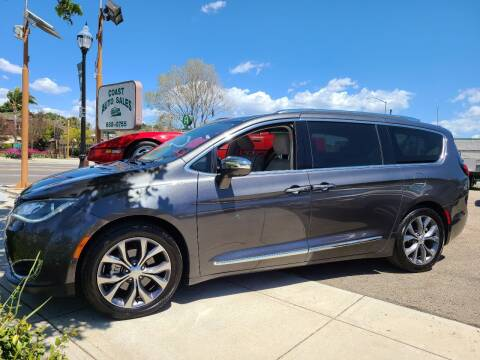 2017 Chrysler Pacifica for sale at Coast Auto Sales in Buellton CA