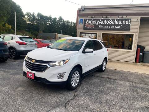 2018 Chevrolet Equinox for sale at Variety Auto Sales in Worcester MA