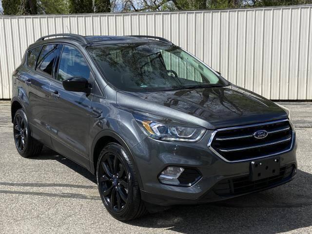 2017 Ford Escape for sale at Miller Auto Sales in Saint Louis MI