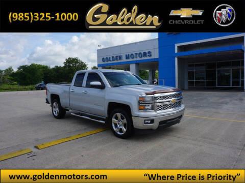 2014 Chevrolet Silverado 1500 for sale at GOLDEN MOTORS in Cut Off LA