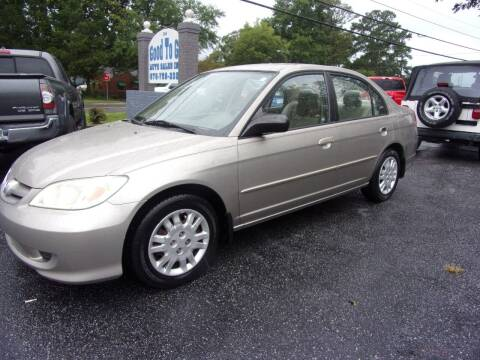 2004 Honda Civic for sale at Good To Go Auto Sales in Mcdonough GA