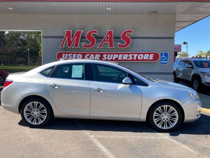 2013 Buick Verano for sale at MSAS AUTO SALES in Grand Island NE