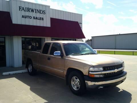 2001 Chevrolet Silverado 1500 for sale at Fairwinds Auto Sales in Dewitt AR