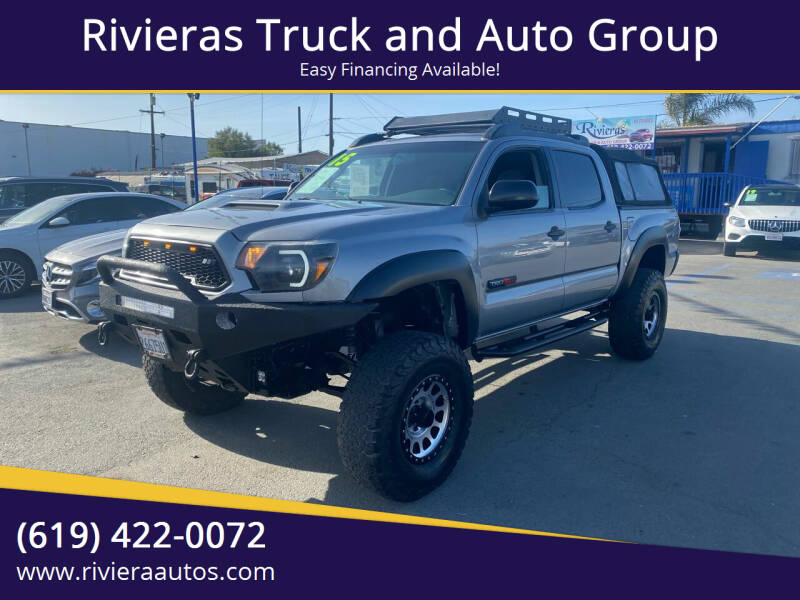 2015 Toyota Tacoma for sale at Rivieras Truck and Auto Group in Chula Vista CA