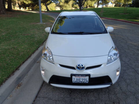 2015 Toyota Prius for sale at N c Auto Sales in Los Angeles CA