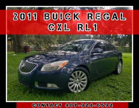2011 Buick Regal for sale at AFFORDABLE ONE LLC in Orlando FL