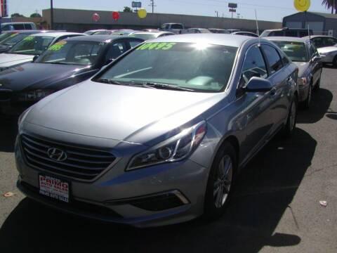 2015 Hyundai Sonata for sale at Primo Auto Sales in Merced CA